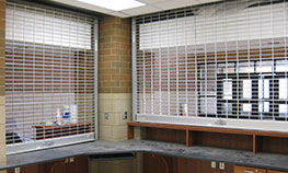 Overhead Coiling Grilles
