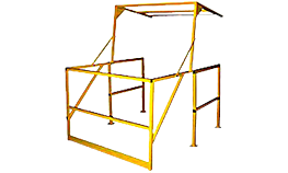 Mezzanine Safety Gate – Pivot Model